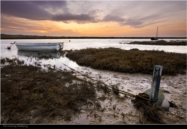 The mooring, Blakeney by rangerpaul