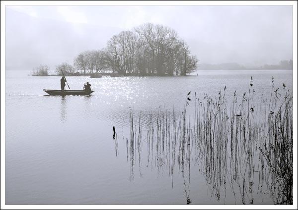 dawn at the lake by bill78