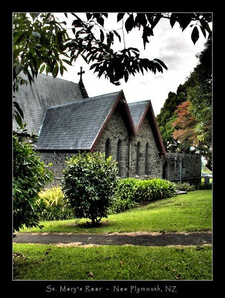 Saint Mary\'s Rear by SteveNZ