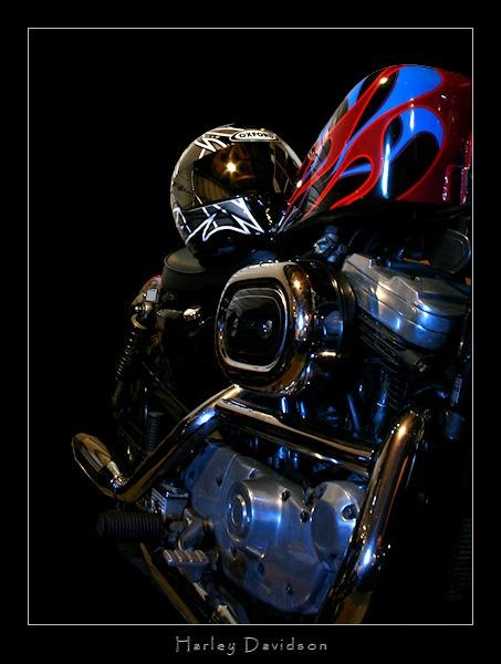 Harley Davidson by SteveNZ