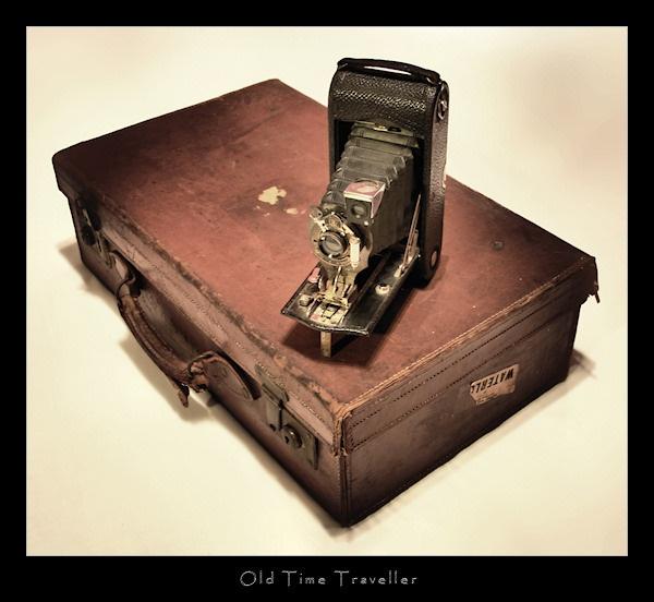 Old Time Traveller by SteveNZ