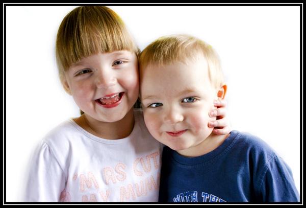Twins Portrait 1 by DJLeroy