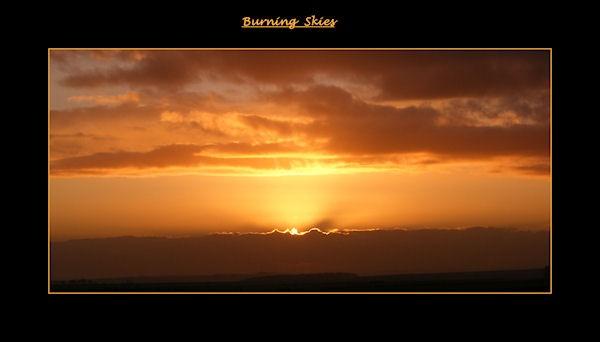 Burning Skies by KEV67S