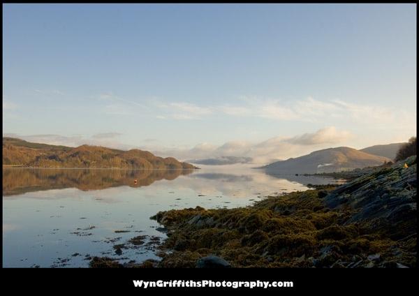 A Fine Loch Fyne Morning by Wyn