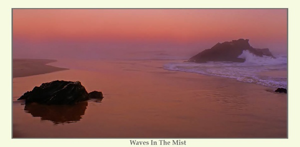 Waves In The Mist by Joeblowfromoz