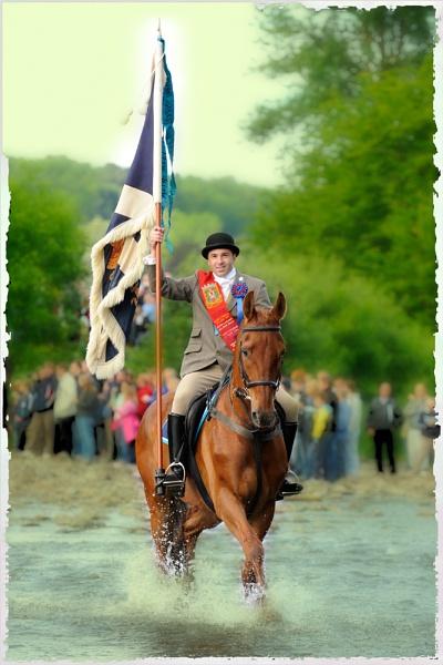 Selkirk Royal Burgh Standard Bearer by digitalpic