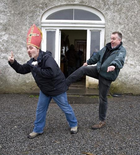Kicking bishop Ganto up the a**e by croberts