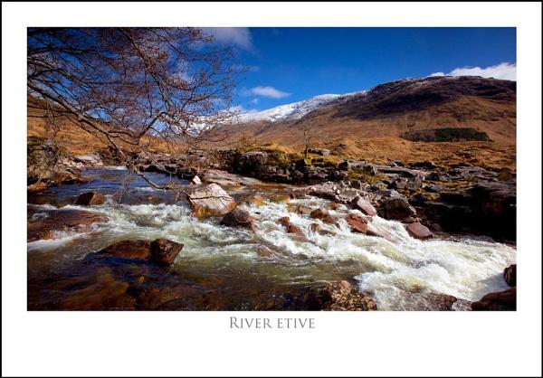 River Etive... by Scottishlandscapes