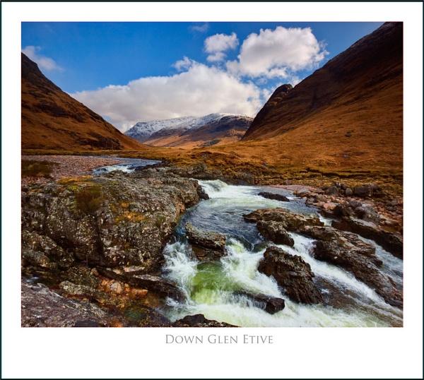 Down Glen Etive... by Scottishlandscapes