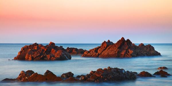 CULLEN - BAY ROCKS IN SPRING by JASPERIMAGE