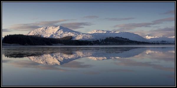 Loch Tulla pano by v8dunc