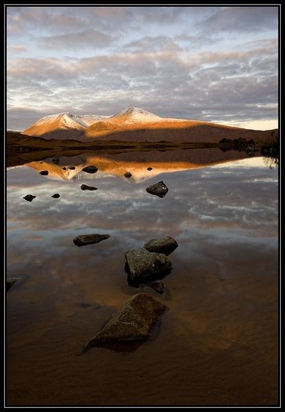 Black mount sunrise by v8dunc