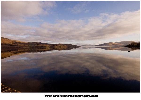 Cloudy Scottish Morning by Wyn