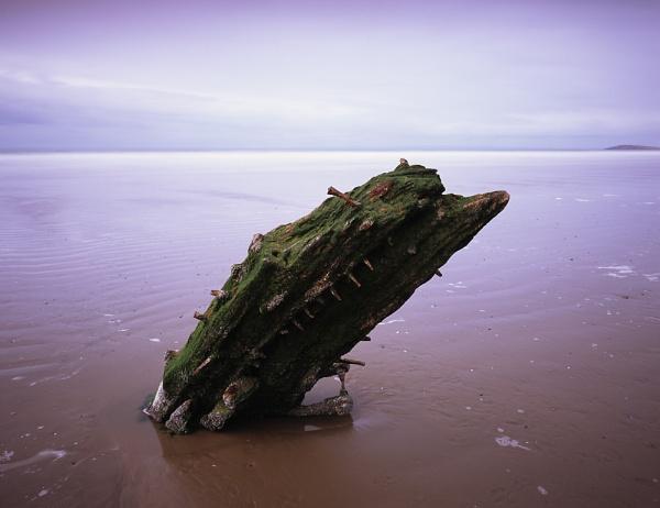 Gower Wreck by fennera