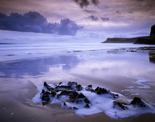 Mewslade Bay by fennera