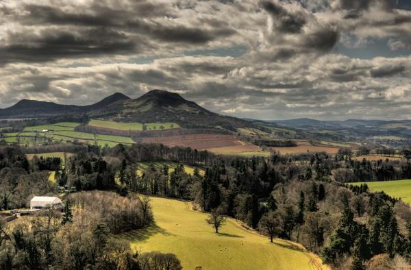 eildon hills 2 by davidlaurie