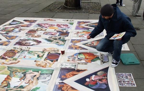 Street artist by goodone