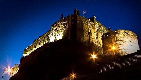 Edinburgh castle by Gep