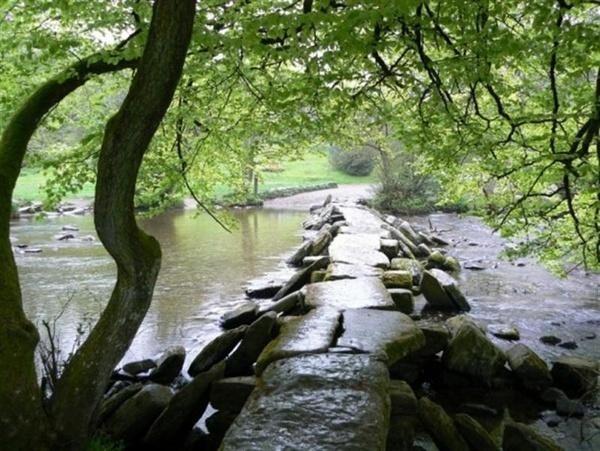 Tar Steps, Exmoor by ValRMN