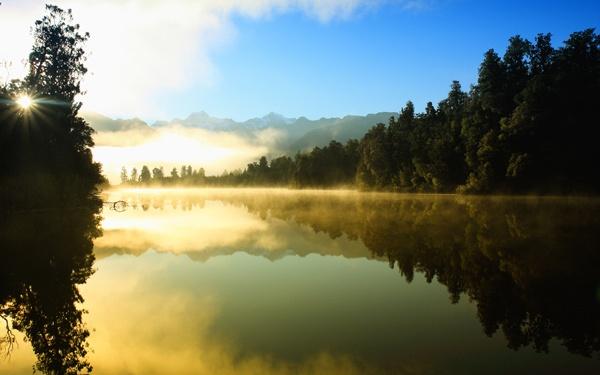 New Zealand Morning Mist by fourdavisons