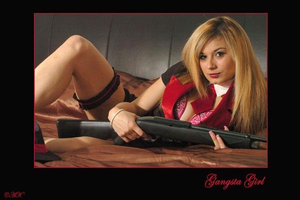 Gangsta Girl by AKR1