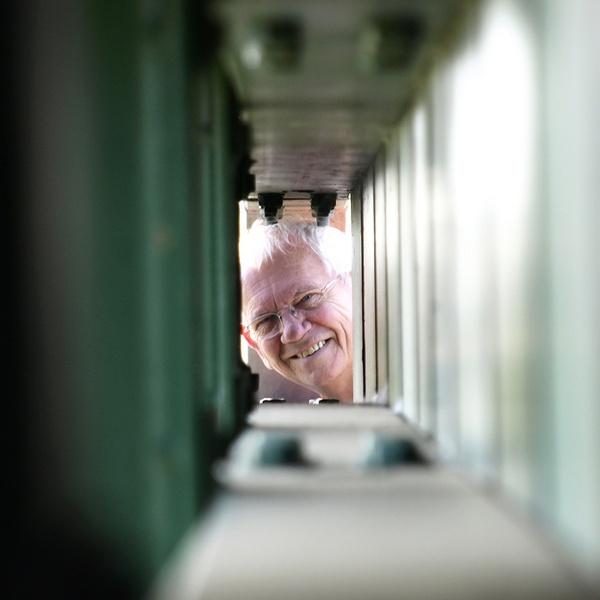 Through a box frame by LindaSilcock