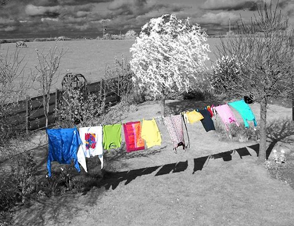 Washing Line by LindaSilcock