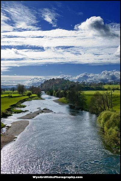 River Towy at Llandeilo by Wyn