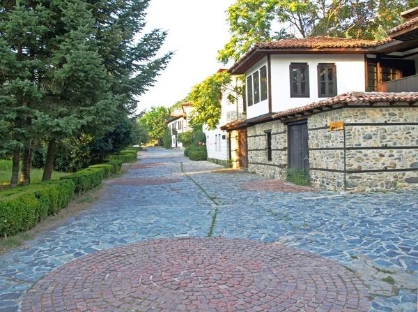Old Town street by DavidInBulgaria