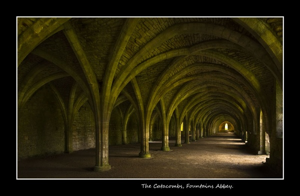 The Catacombs, Fountains Abbey by derekhansen