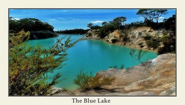 The Blue Lake by Joeblowfromoz