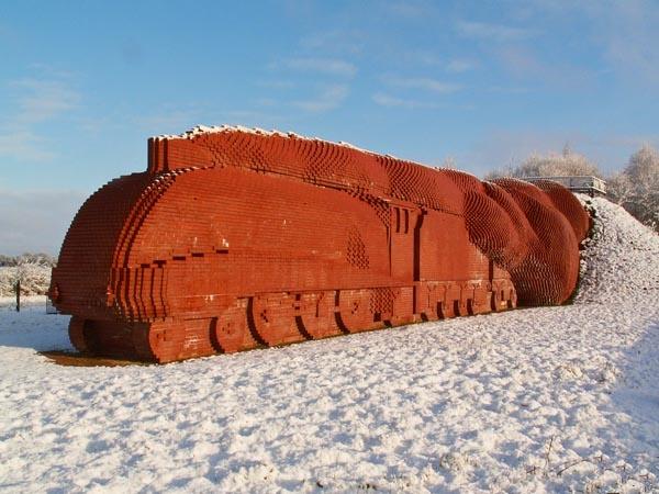 Brick Train by MB63