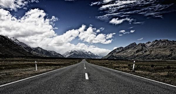 Mountain Pass by fourdavisons