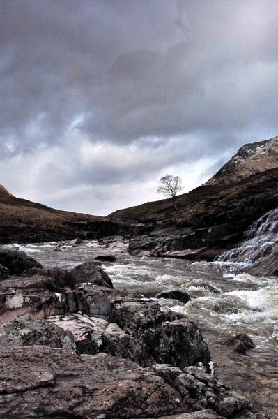 Glen Etive towards Glencoe by tartantrousers