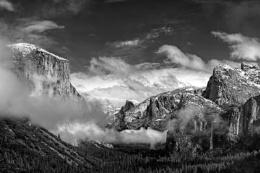 Clearing Sky, Yosemite