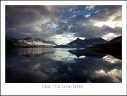 High Tide Loch Leven...