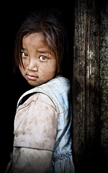 Darjeeling Village Girl by Henchard
