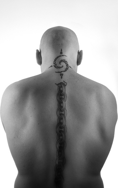Tattoo back by Paulio