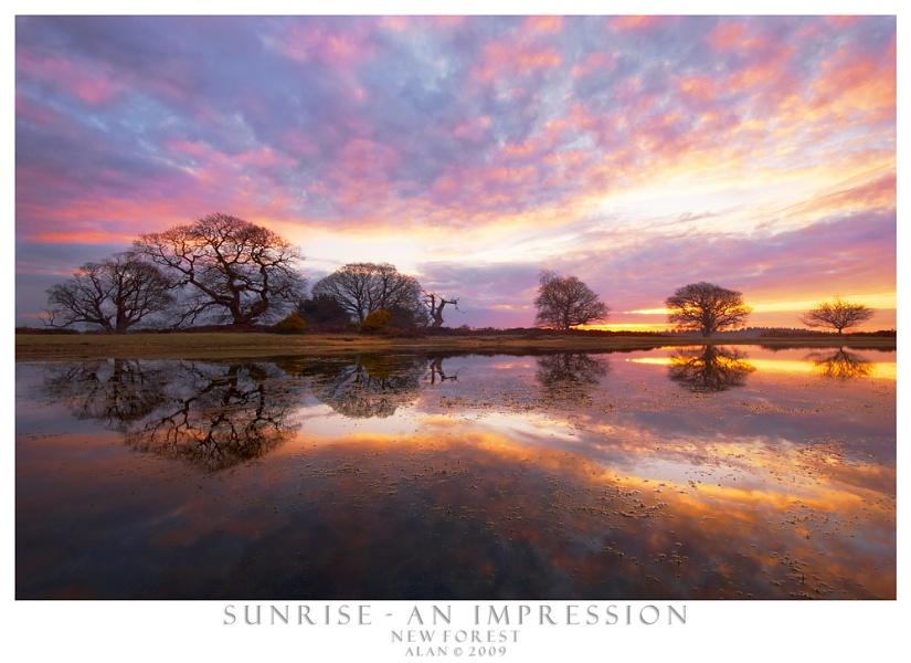Sunrise - An Impression