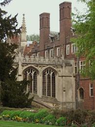 A quiet corner in Cambridge