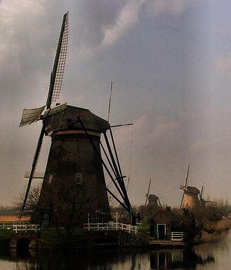 Mill in Holland by peterdehaan2