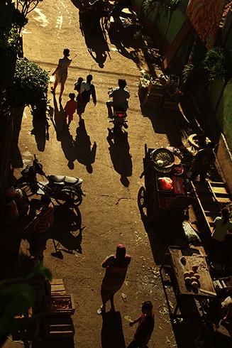 Market in Jakarta by Rarindra