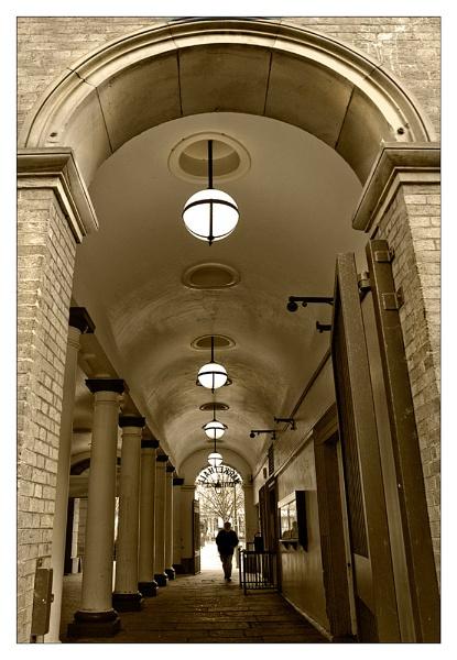 passageway... by Cressy