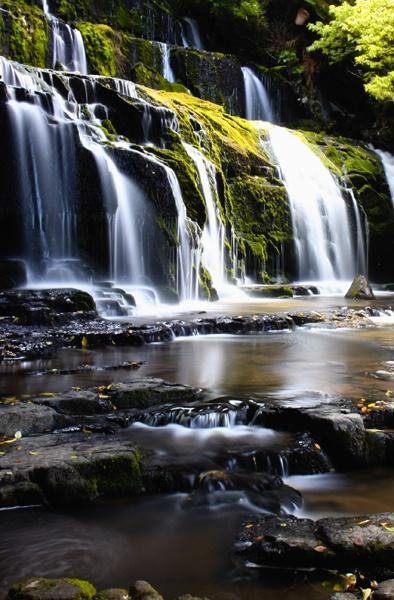Purakaunui Falls by fourdavisons