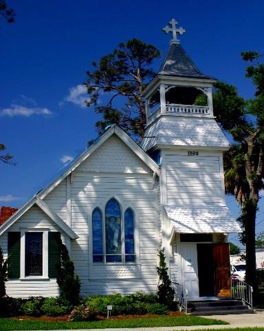 st Epistocal Church 1869 Port Orange Florida USA by cast9326