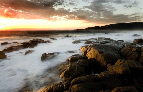 West Coast Sunset by soppygreatdane