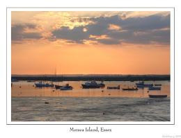 Sunset over Mersea
