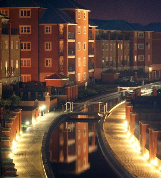 Night reflection by Artois