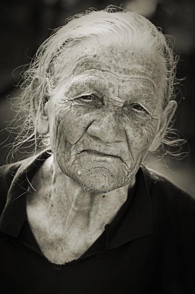 Old Lady by Branka