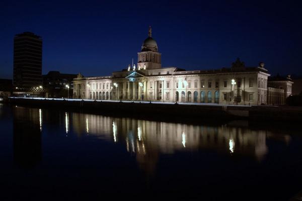 The Custom House Dublin by Ando